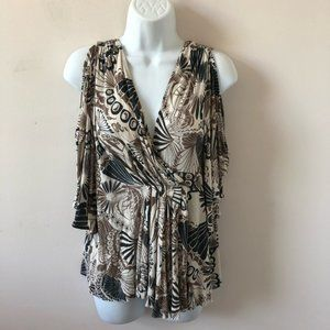 Free People Amour Printed Blouse- Size S